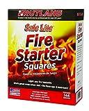 Rutland 50B Safe Lite Fire Starter Squares, 144
