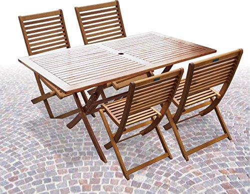 Tavoli Da Giardino Pieghevoli In Legno.Ad31066s4 Tavolo Da Giardino In Legno Acacia Rettangolare
