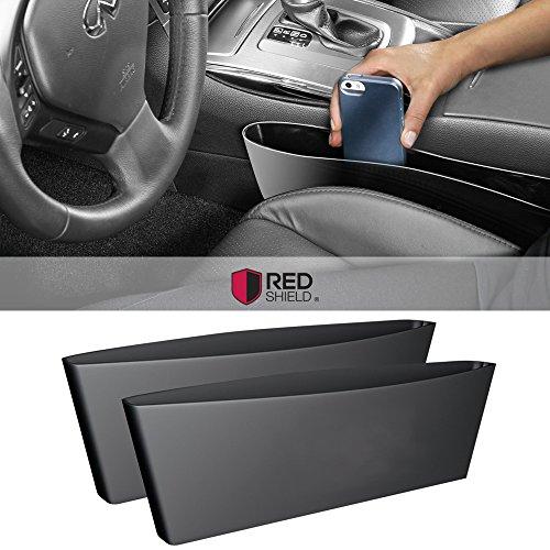 2pk Universal Car Interior Seat Organizer Black Car And Automotive Supplies