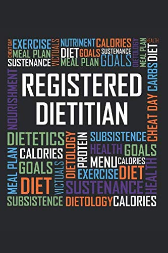 Registered Dietitian Words: 6x9 Ruled