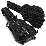 Savior Equipment Tactical Discreet Rifle Carbine Shotgun Pistol Gun Carrier Ultimate Guitar Case - Fit Up to 45' Firearm, Concealed Carry, Lockable Design
