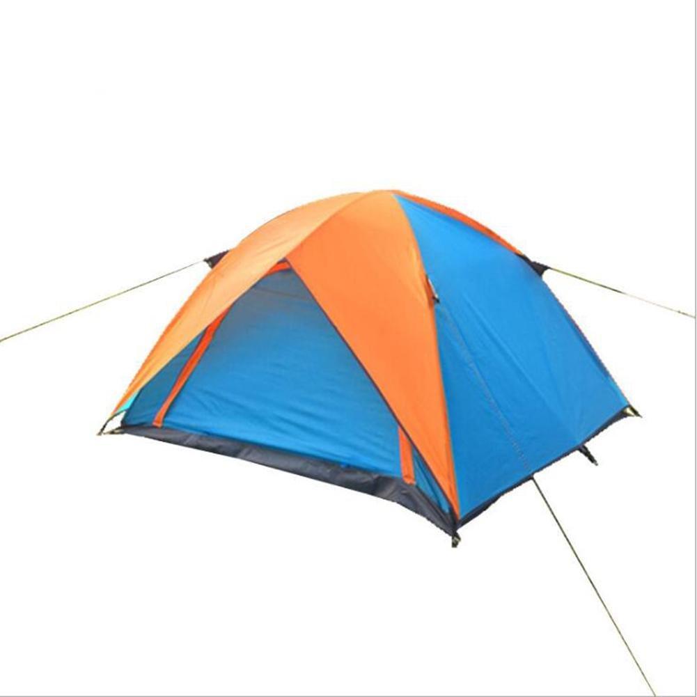 LZH FISHING GEAR LZH - Suministros de Camping al Aire Libre para 3 – 4 Personas Tienda de Campaña de Dos Puertas Transpirable e Impermeable