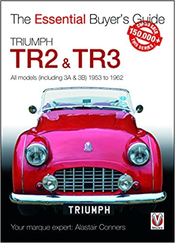 Triumph Tr2 Tr3 All Models Including 3a 3b 1953 To 1962