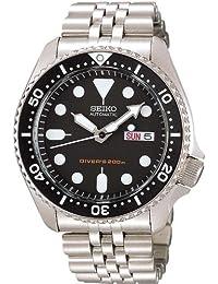 Seiko import Black SKX007KD mens SEIKO watches reimportation overseas model (japan import)