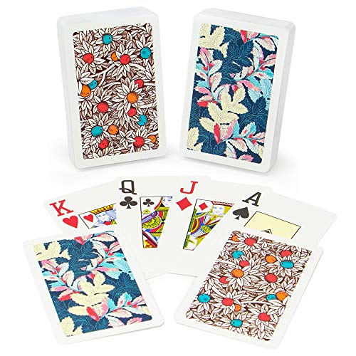 Copag Neo Nature 100% Plastic Playing Cards, Bridge Size, Jumbo Index ()