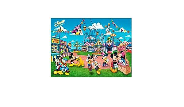 VAST Juegos de Puzzles for Adultos y niños,, Historieta de Mickey Mouse de Disney Mickey Rompecabezas de Madera, a 300/520/1000 Piezas de Entretenimiento Juguetes 525 (Color : C , Size :