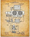 1916 Air Conditioner - 11x14 Unframed Patent Print - Makes a Great Gift Under $15 for HVAC Technicians