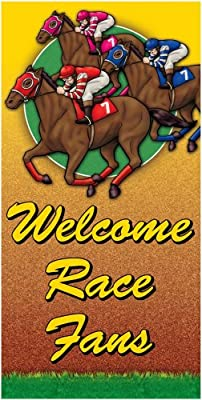 "A Day At the Races Giant Door Poster 30"" X 60"""