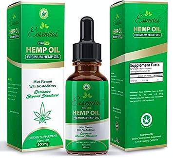 Amazon.com: Hemp Oil for Pain Relief, 500mg Hemp Extract, Anxiety ...