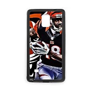 Cincinnati Bengals Samsung Galaxy Note 4 Cell Phone Case Black DIY gift zhm004_8713698