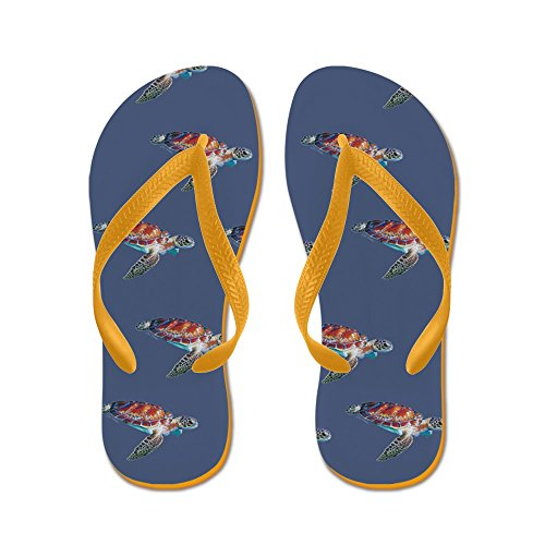 CafePress Speedy - Flip Flops, Funny Thong Sandals, Beach Sandals Orange
