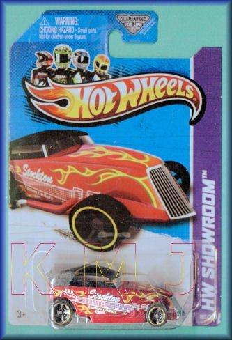 Hot Wheels Phaeton HW SHOWROOM 182/250 Red/Yellow Flames