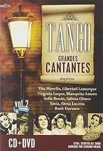 Grandes Cantantes Mujeres Vol. (2Cd/Dvd)