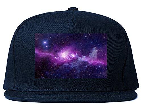 Galaxy Universe Snapback Hat Cap Navy - Universe Snapback