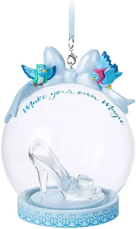 Decoration Xmas Ornament Decor Disney Princess Cinderella Little Glass Slipper
