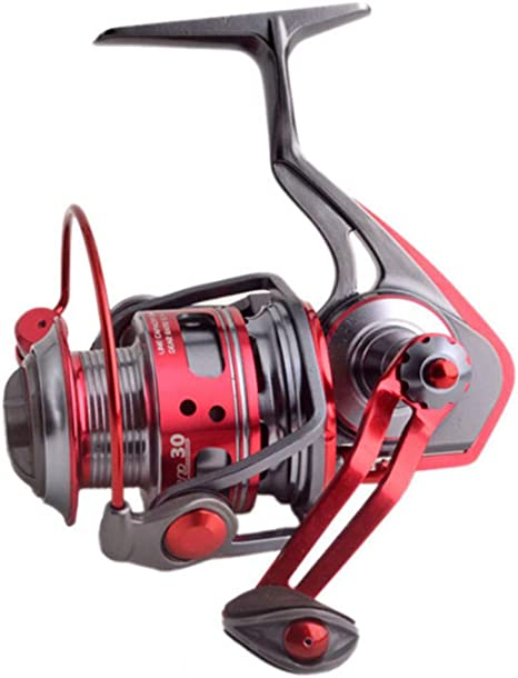 All-Metal Spinning Wheel 1000-6000 9 + 1BB 5.7: 1 Carrete la Pesca la Rueda Bobina Metal: Amazon.es: Deportes y aire libre