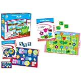 Carson-Dellosa CD-140307 Math File Folder Game, Grade 2, 16 Games, 19 Sheets of Cards (Pack of 35)