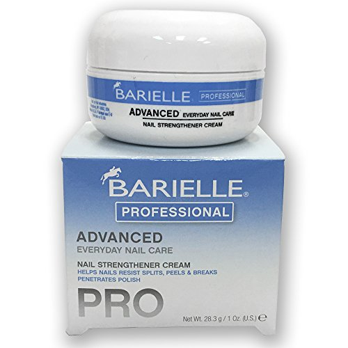 Barielle Professional Advanced Nail Strengthener 1 oz with Free Gifts! (Cream Barielle)