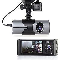 Indigi 2.7 TFT LCD HD Dash-Cam DualCam Car DVR w/ GPS Tracker + Google Maps + G-Sensor