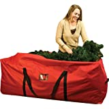Santas Bags Rolling Tree Storage Duffel, for 6 to 9-Foot Trees