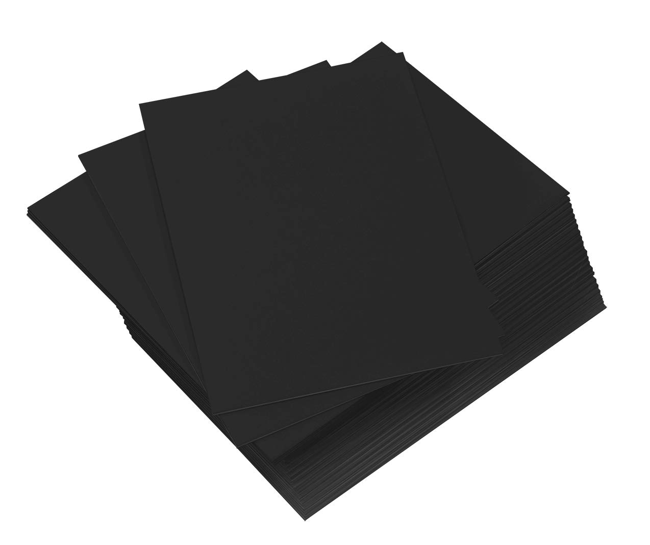 50 16x20 UNCUT mat matboard Black Color by Golden State Art