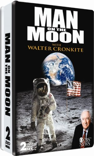 (Man On The Moon with Walter Cronkite - 40th Anniversary Collector's Embossed Tin )