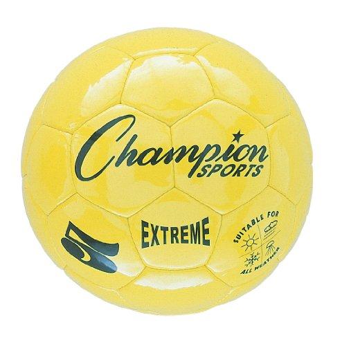 Champion Sports Extreme Soccer Ball, Size 4, Yellow