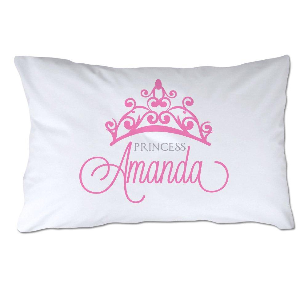 Attractive Amazon.com: Personalized Princess Pillowcase: Home & Kitchen VF21