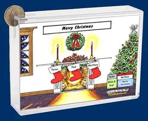 Pesonalized Bank: Christmas Stocking – 3 Great for Christmas dÃcor