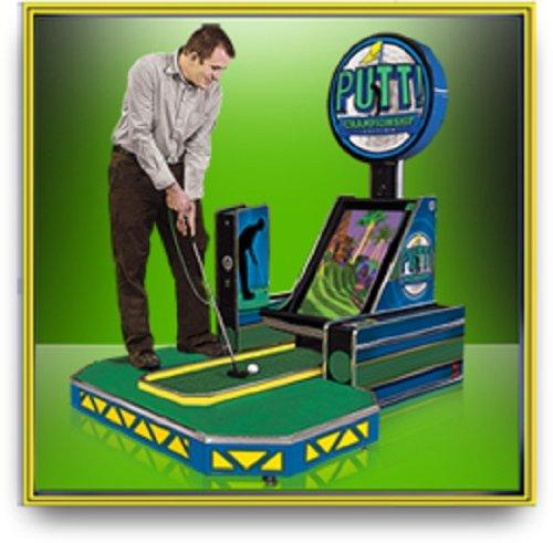 Putt! Championship Miniature Golf Home Edition Arcade Game