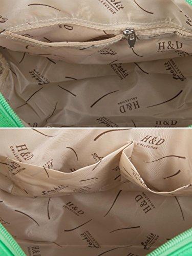 Étoilé À Bag Strass Bowling Stylebreaker Avec Le Femme Main Vert 02012021 Dans Rivets Motif Ciel Sac vqgywR