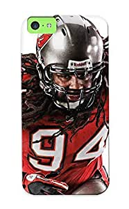 New Style Standinmyside Tampa Bay Buccaneers Nfl Football Premium Tpu Cover Case For Iphone 5c