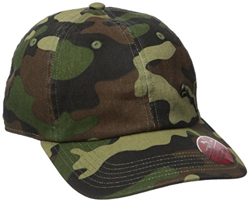 PUMA Men's Evercat Newport Relaxed Fit Adjustable Cap, Camo/Black, One (Newport Classic Cap)