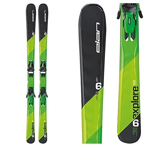 Elan Explore 6 Skis with EL 10.0 Bindings - 160cm (Elan Explore)