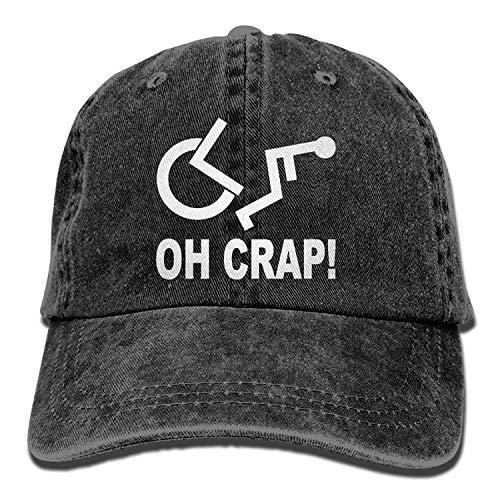 Jimmy P Crap Handicap Wheelchair Denim Hat Adjustable Womens