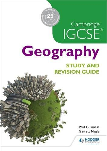 Cambridge Igcse Geography Study & Revision Guide