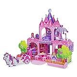 """Melissa & Doug 9462 Pink Palace 3-D Puzzle (15 x 14.25 x 13"""", 100 Plus Pcs)"""