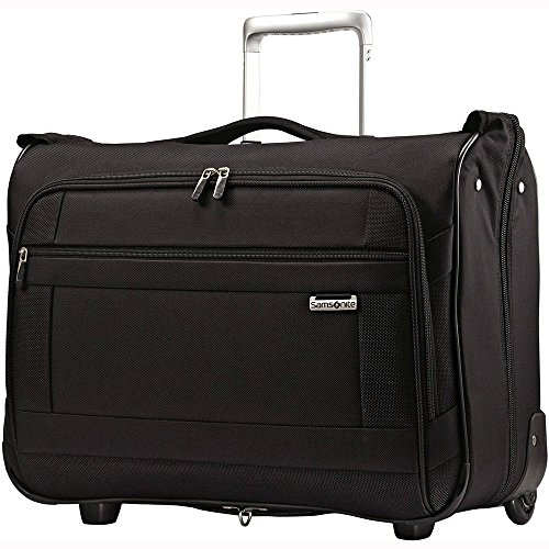 Samsonite Solyte Softside Carry-On Wheeled Garment Bag, Black (Luggage Garment Bag With Wheels compare prices)