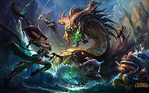 12X10 Inch LOL League of Legend Baron Nashor Boss Mouse Pad High Sensitivity Waterproof Nonskid