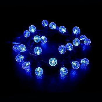 Amazon Com Maxinda Led Outdoor Christmas Light Blue