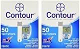 Bayer Contour Glucose Test Strips - 100 ct.