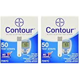 Bayer Contour Glucose Test Strips - 100 ct.