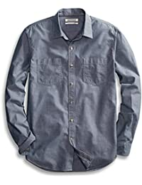 Amazon Brand - Goodthreads Men's Standard-Fit Long-Sleeve Double Pocket Work Shirt