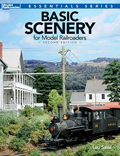 Basic Scenery for Model Railroaders, Second Edition (Model Railroader Books: Essentials) ()