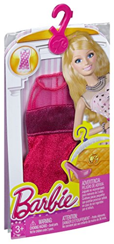 FASHION Cfx69 LOOK Kleid BARBIE Rot Pink SEqww5td