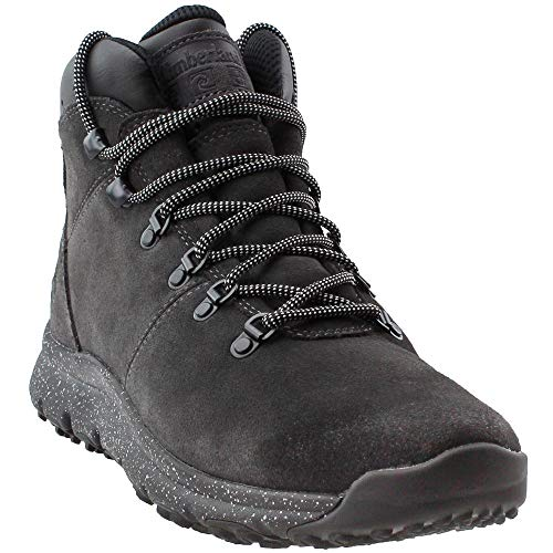 Timberland Mens World Hiker Mid Dark Grey Boot - 10