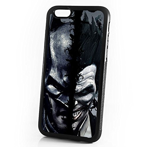 ( For iPhone 8 / iPhone 7 ) Durable Protective Soft Back Case Phone Cover - A11021 Batman Joker