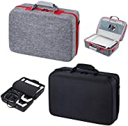 Carrying Case for PS5 Hard Shell Carry Case Travel Bag, Shockproof and Waterproof Storage Bag for PS5, Portabl