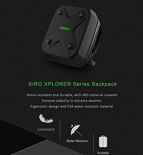 XIRO Xplorer Aerial UAV Drone Carrying case Travel Quadcopter Waterproof Case - Black