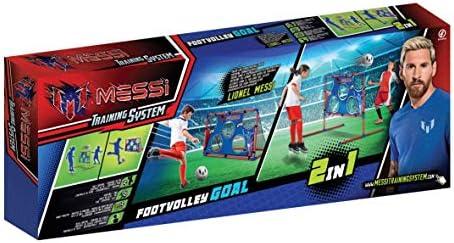 Messi- Portería 2 en 1 (Bola y Bomba Incluidas), Multicolor (Flair Leisure Products MET11000): Amazon.es: Juguetes y juegos
